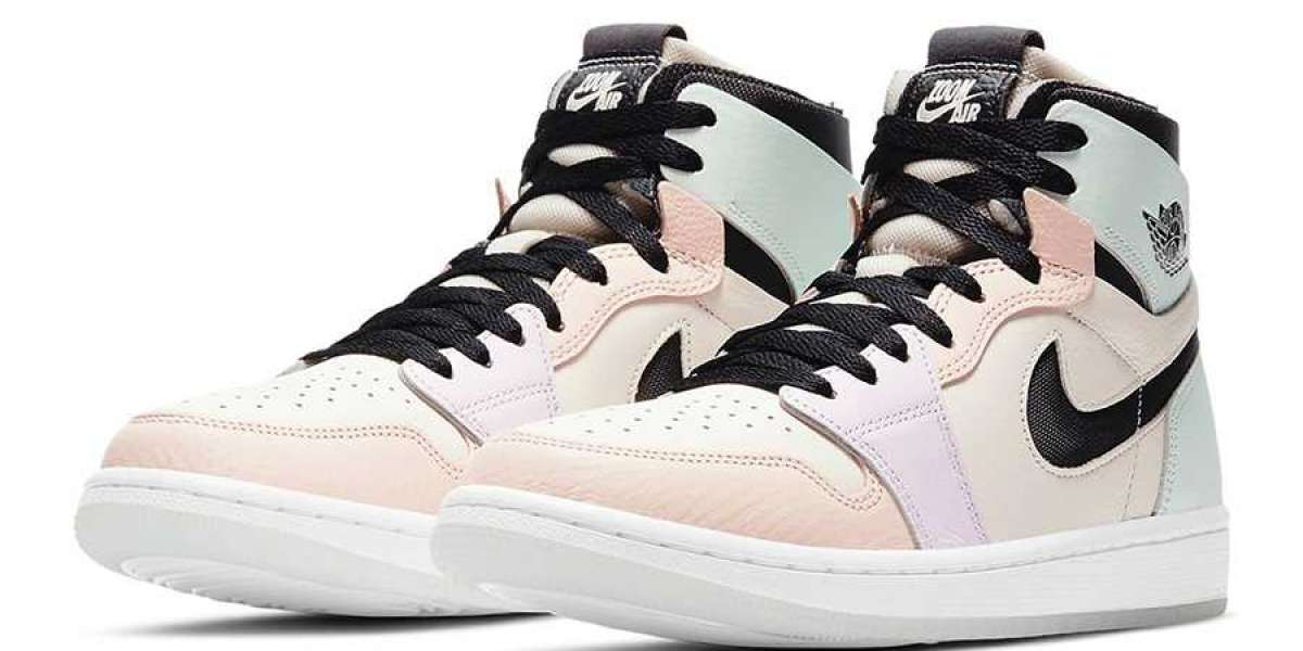 "Air Jordan 1 Zoom Comfort ""Easter"" 2021 New Arrival CT0979-101"