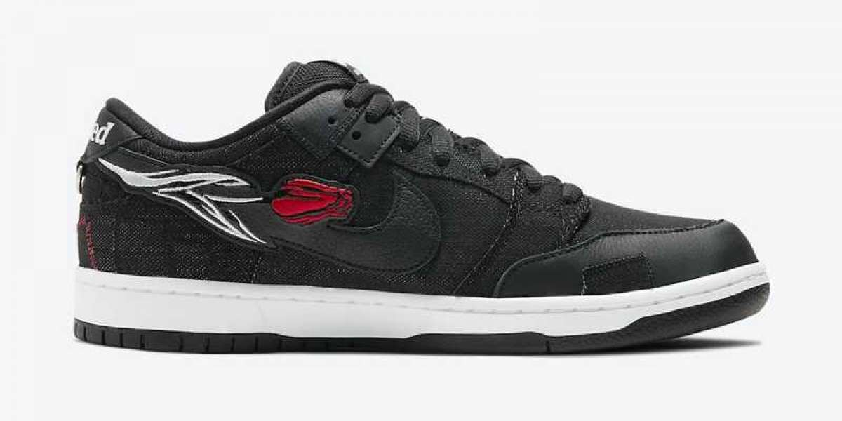 Where to buy Wasted Youth x Nike SB Dunk Low Black/University Red-White DD8386-001?
