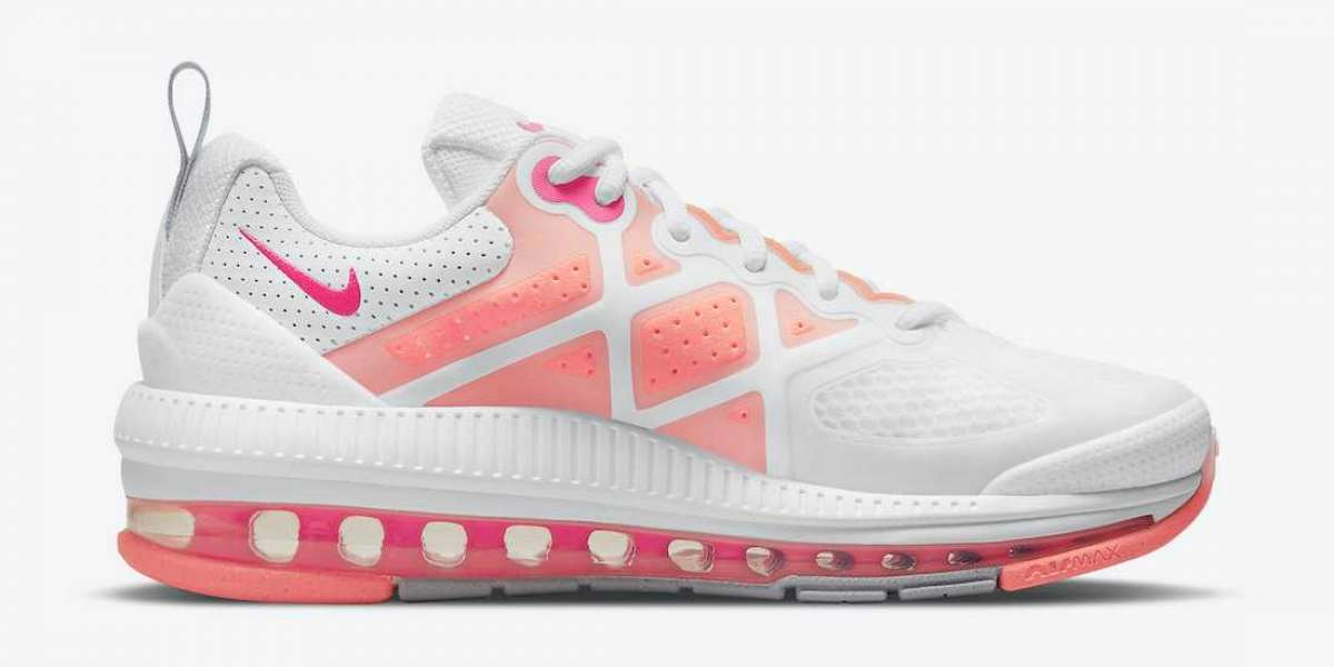 """The latest Nike Air Max Genome """"Bubble Gum"""" CZ1645-101 Cheap For Sale"""