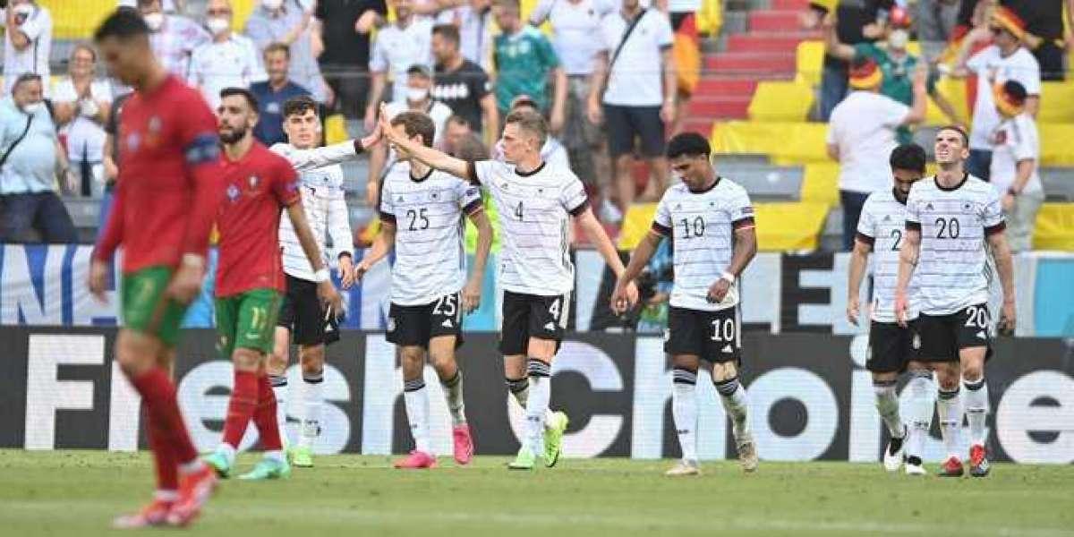 Portugal 2-4 Germany: Slick Germans stun holders