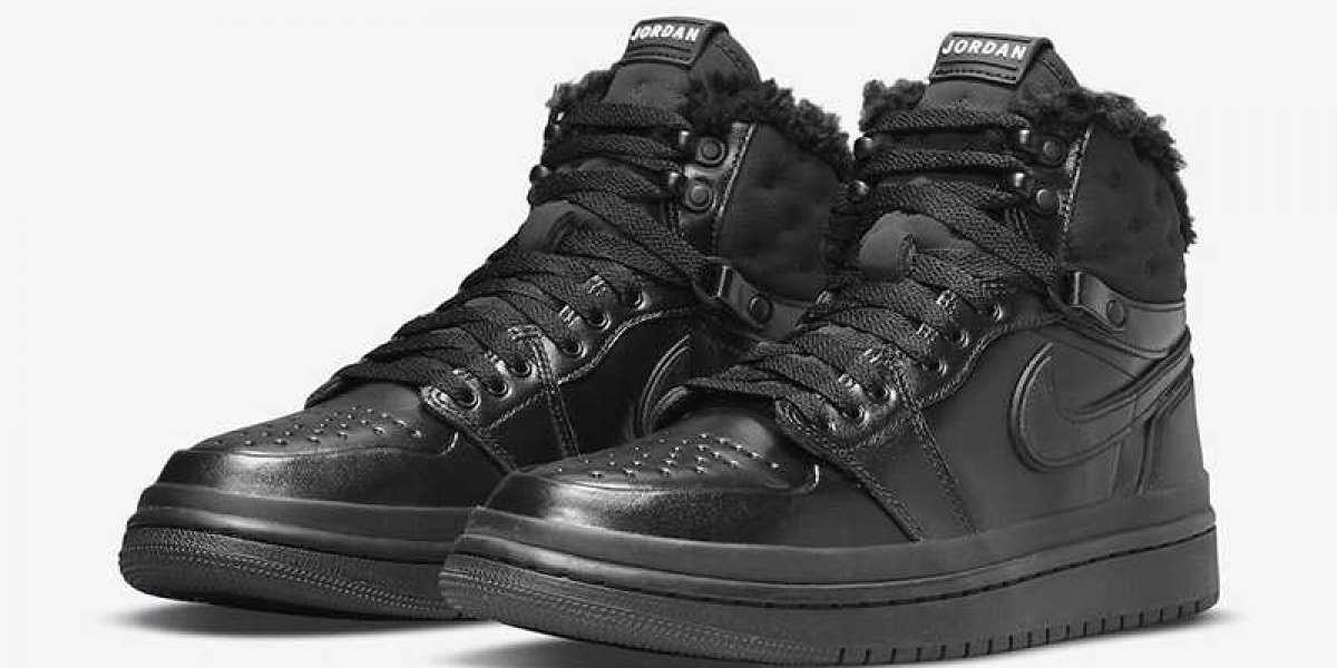 """Air Jordan 1 Acclimate """"Triple Black"""" DC7723-001 Prepare for this winter!"""